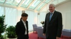 fotogramma del video Serracchiani incontra Pres. Seehofer